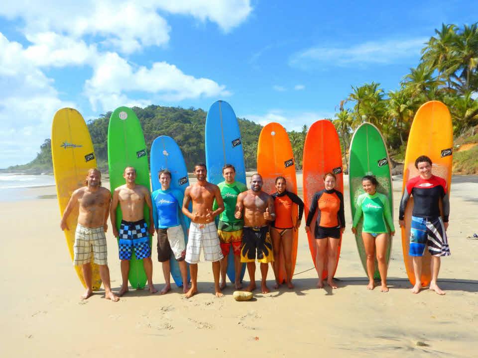 Surfurlaub Brasilien Surfen