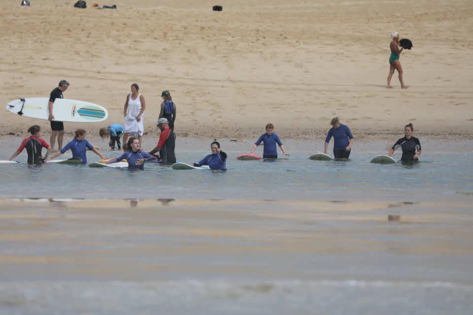 Surfkurs Familie