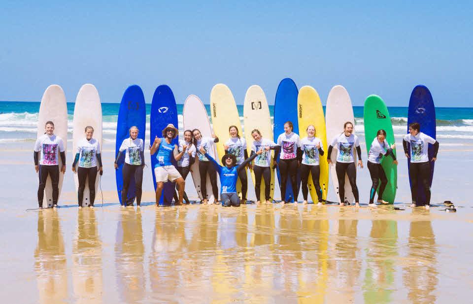 Surfschule Moliets Plage