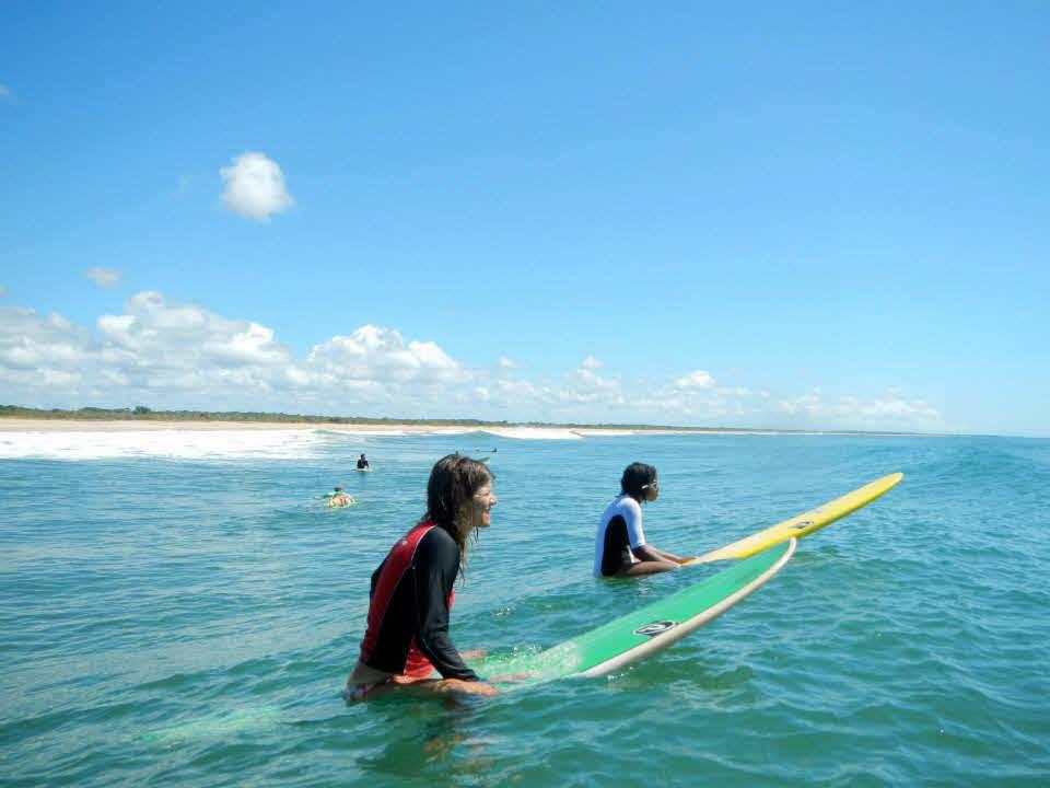 Surfen in Brasilien