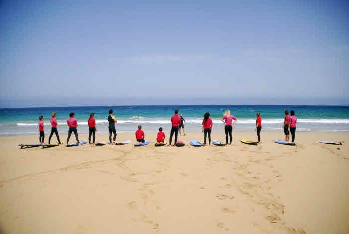 Surfkurs Corralejo