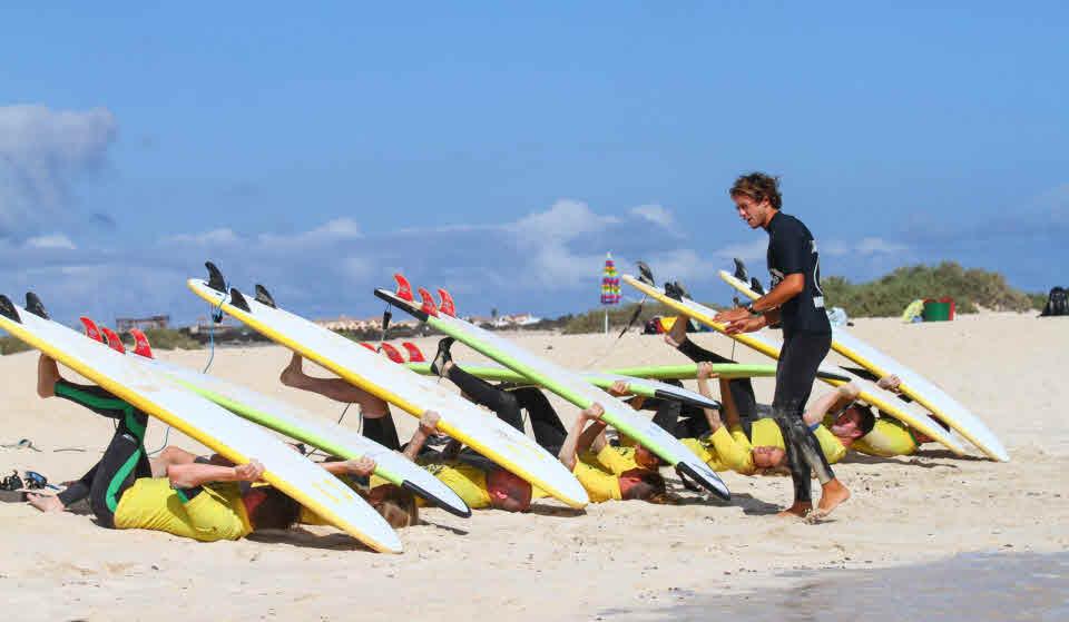 Surfen Corralejo