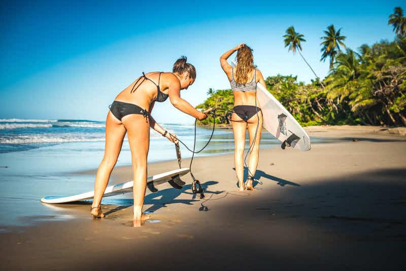 Wellenreiten lernen Costa Rica