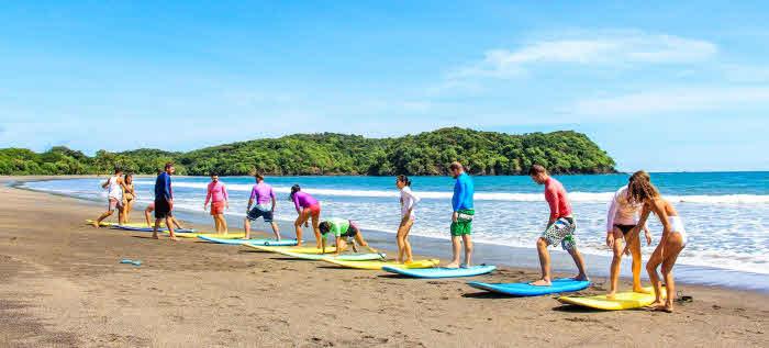Surfschule am Playa Venao