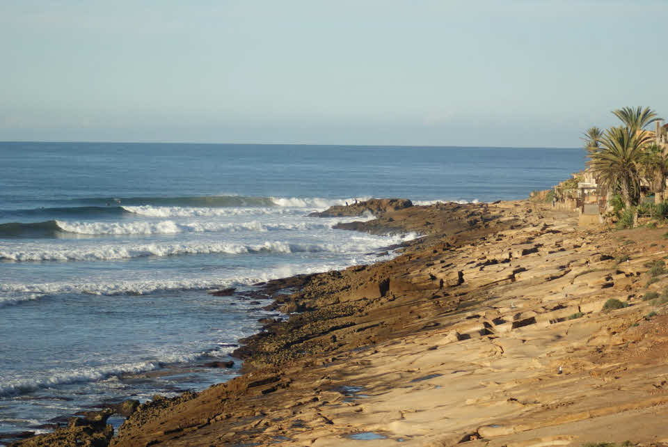 Surfspots Taghazout
