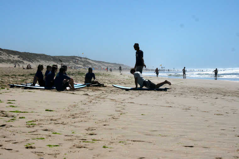 Surfschule in Carcans