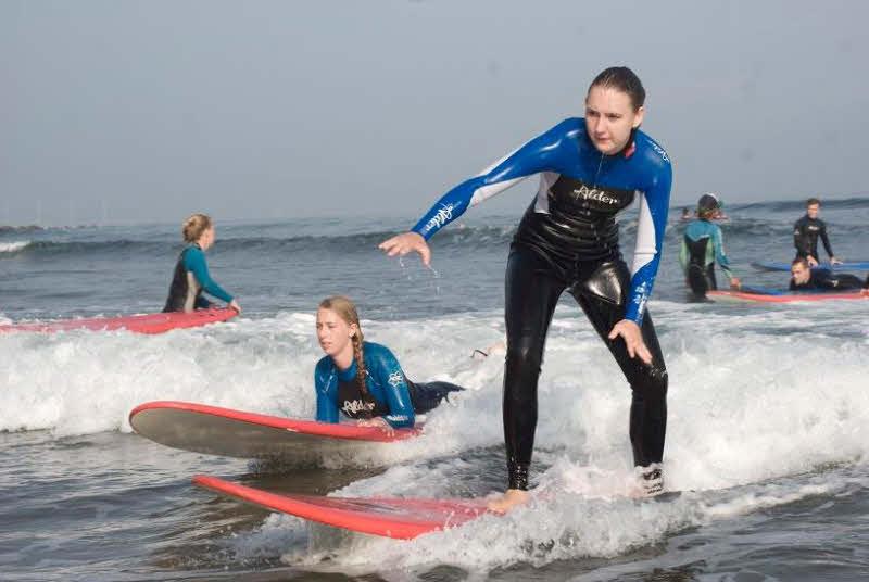 Surfen Bilbao Sopelana