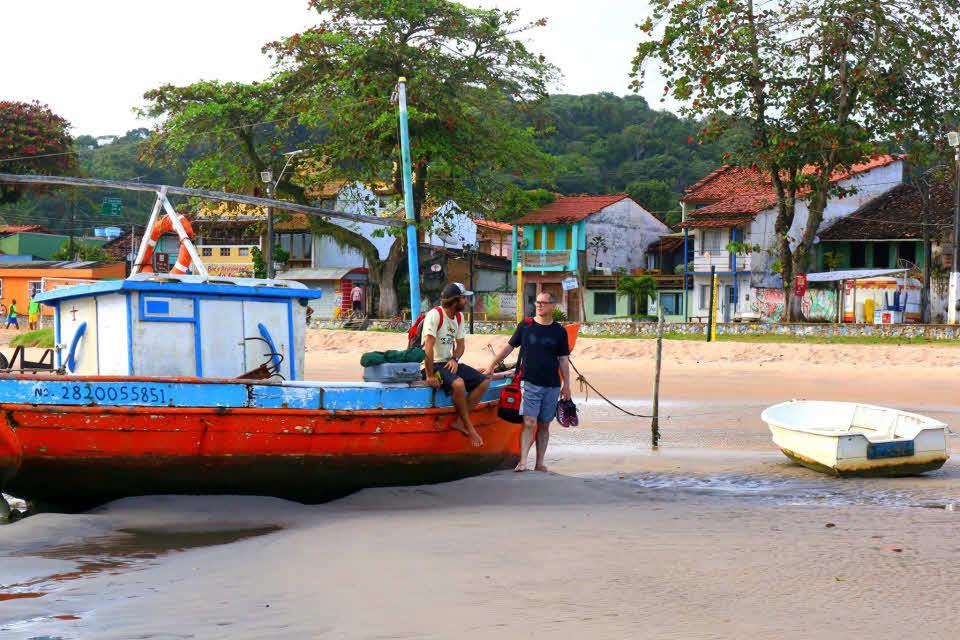 Surfen lernen Brasilien