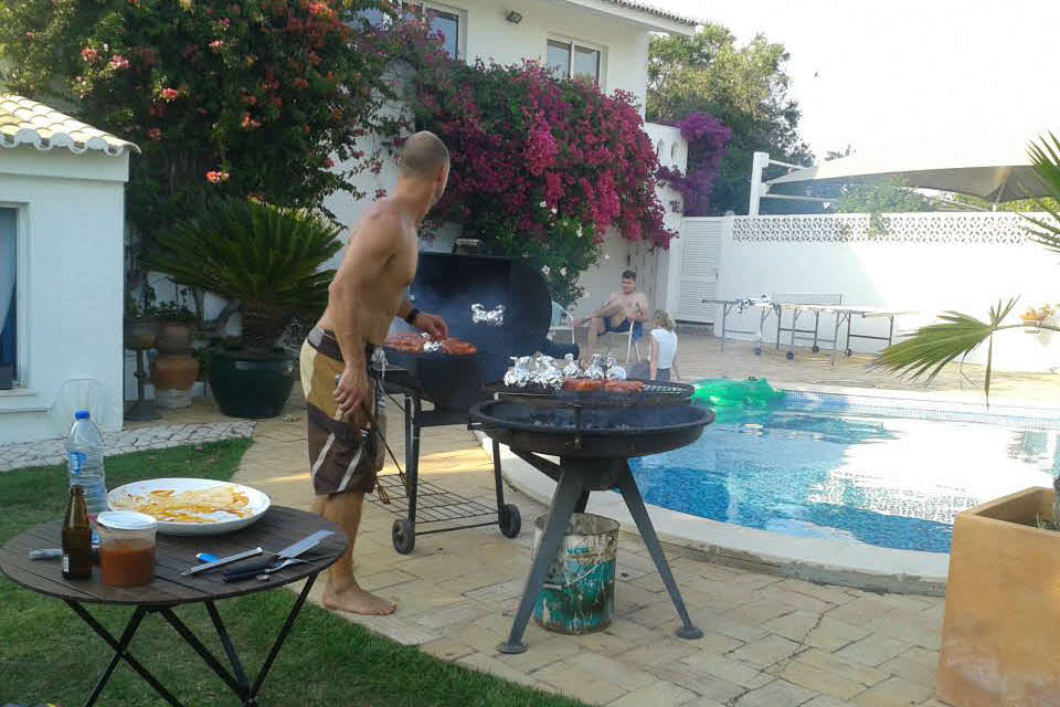 BBQ Surf und Yoga Camp