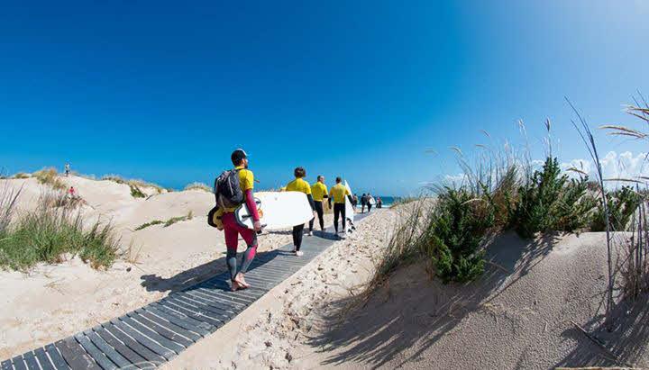 Areia Branca Surfschule Surfkurse