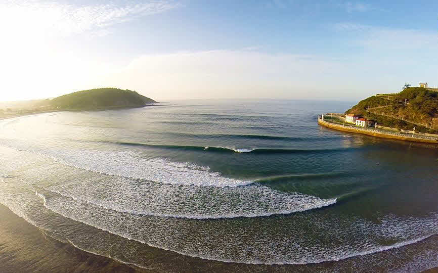 Wellenreiten Ribadesella
