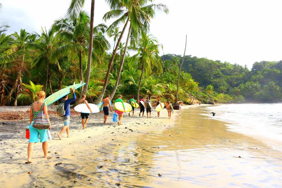 Wellenreiten lernen Brasilien