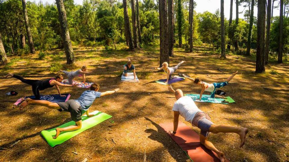 Yogakurse Frankreich
