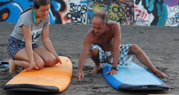 Wellenreiten lernen Bali