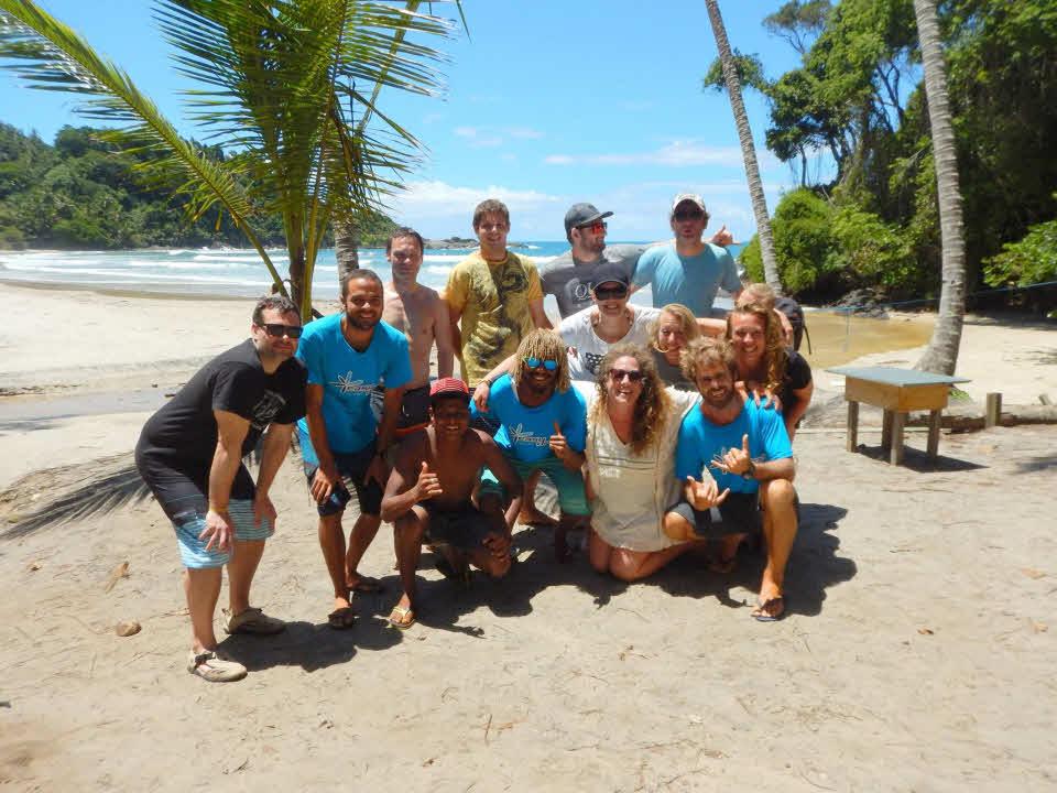 Surfreise Brasilien Surfen lernen