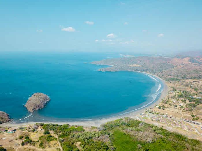 Luftaufnahme Playa Venao