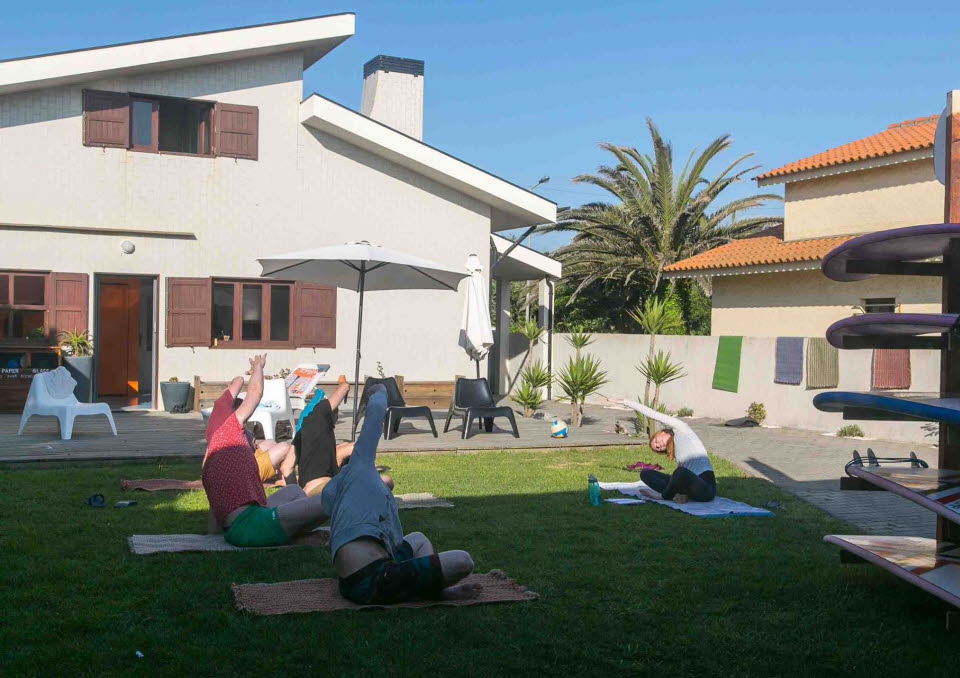 Yoga Surfurlaub Nordportugal