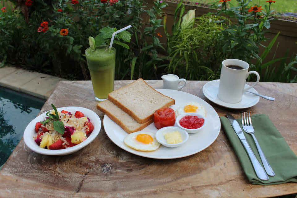 Frühstück Canggu