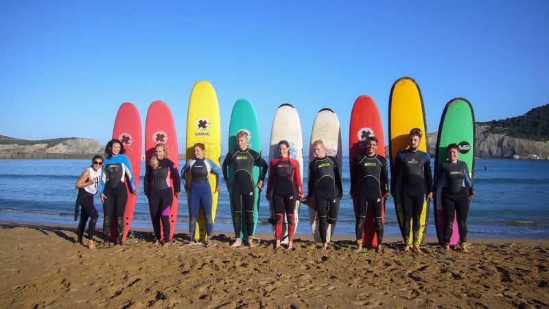 Surfkurs Sopelana