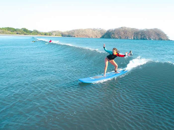 Surfkurs am Playa Venao