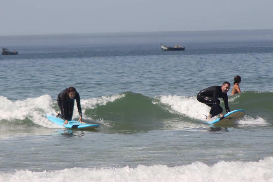 Surfen lernen in Marokko