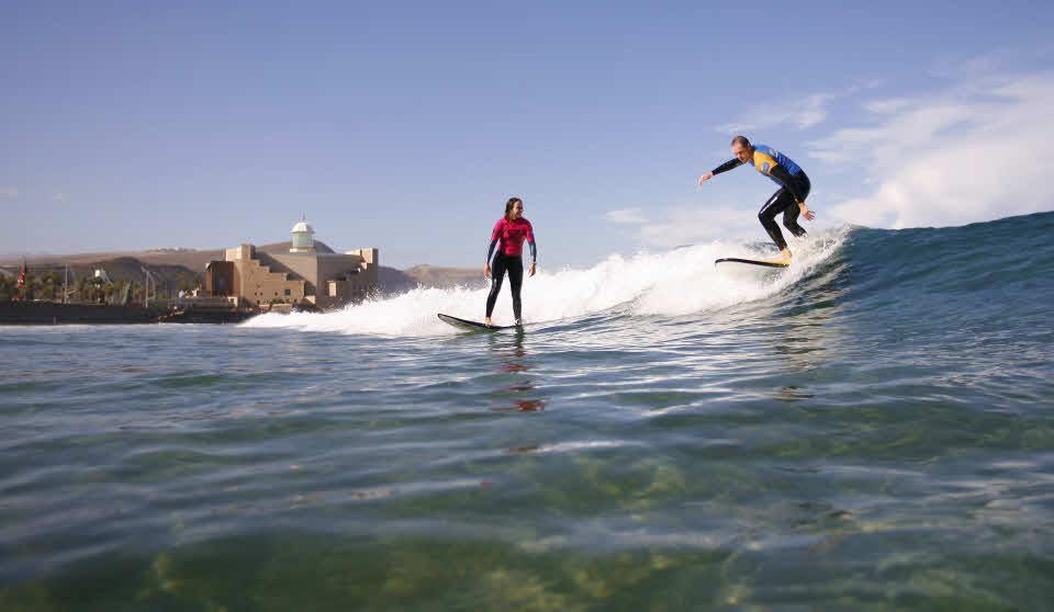 Surfen lernen Las Palmas