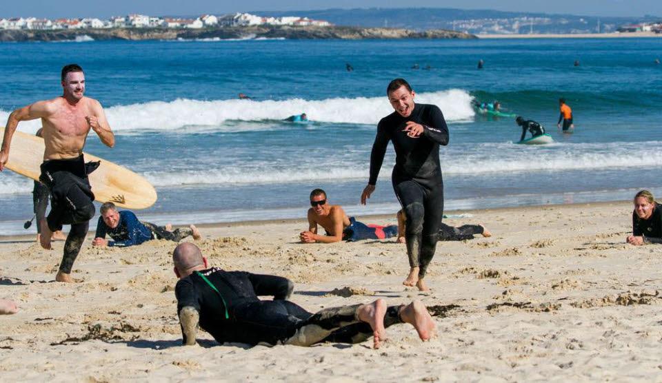 Surfreise Peniche Surfen