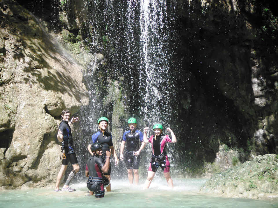 Canyoning Dom Rep