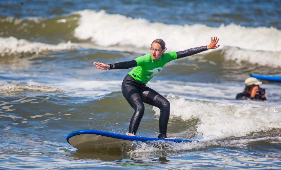Surfen lernen Zandvoort