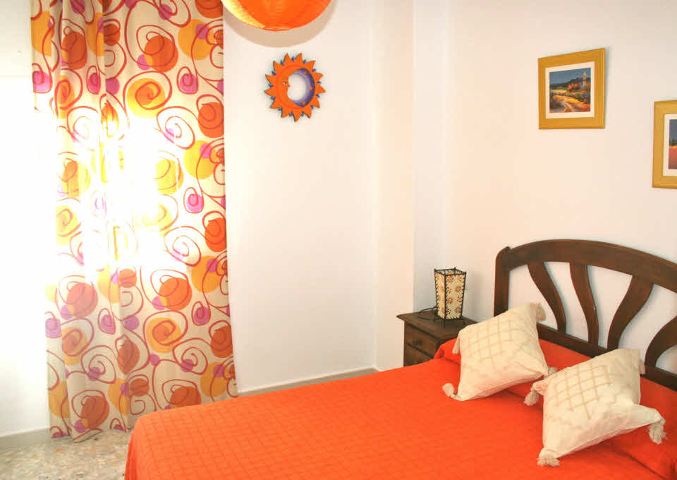 Schlafzimmer Apartment Conil