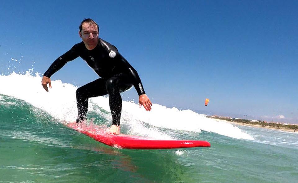 Peniche Surfkurs Fortgeschrittene