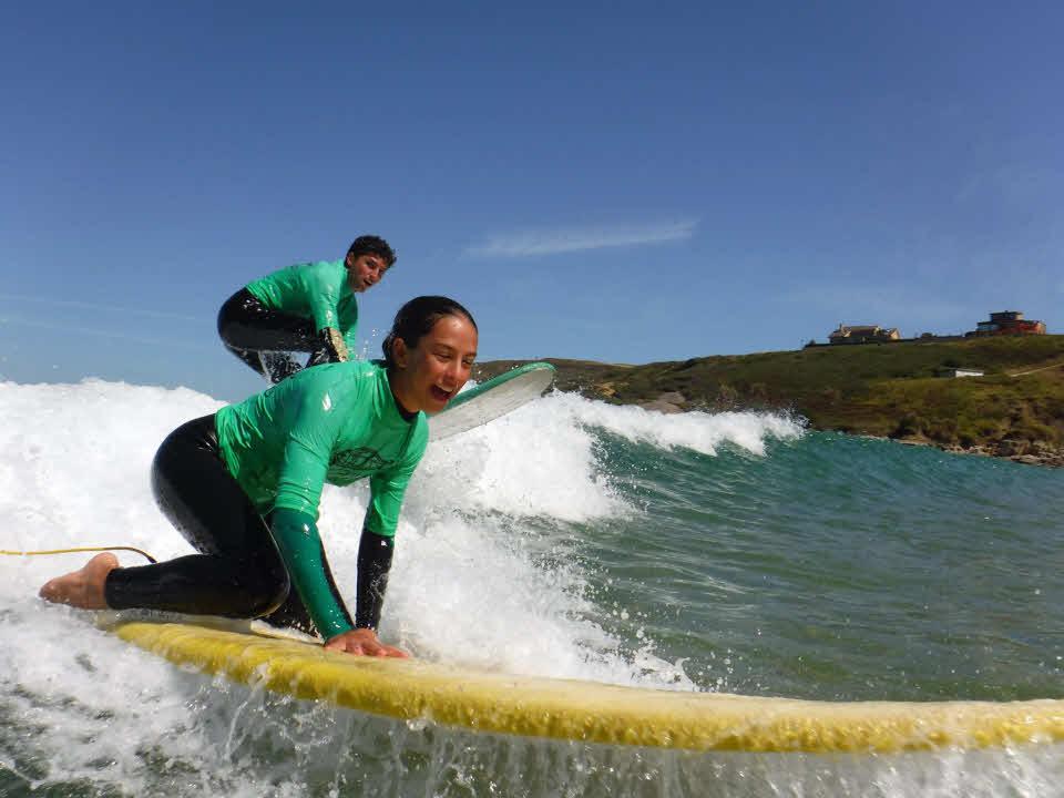 Surfen für Anfänger