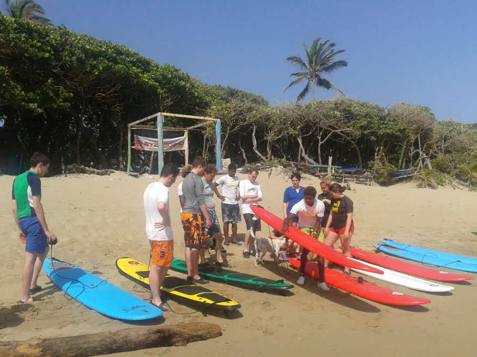 Surfen lernen Encuentro