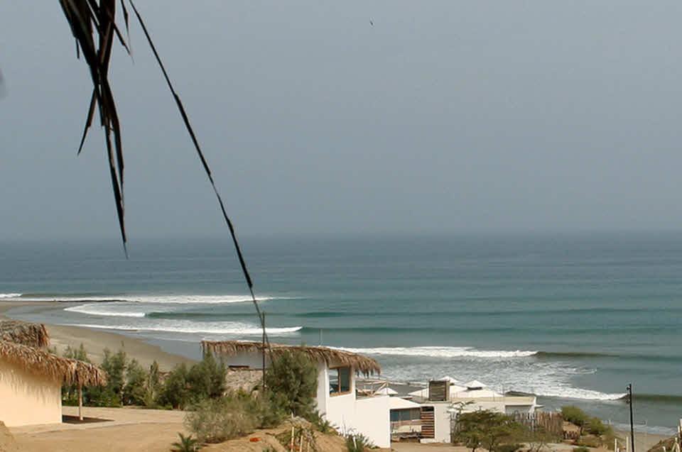 Wellenreiten in Peru