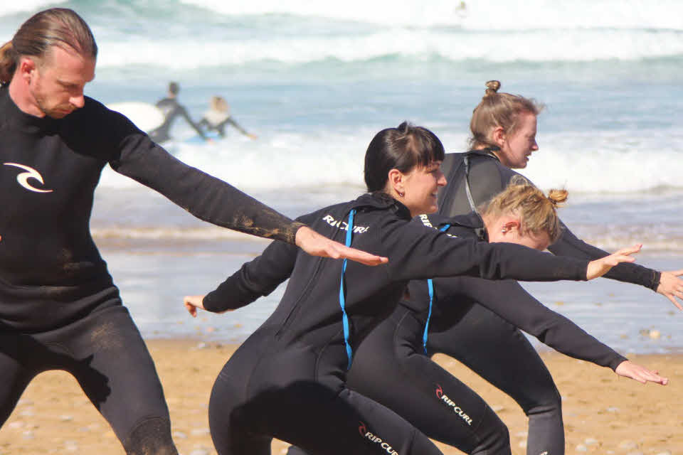 Surfen lernen Marokko