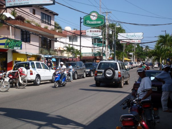 Straße in Cabarete