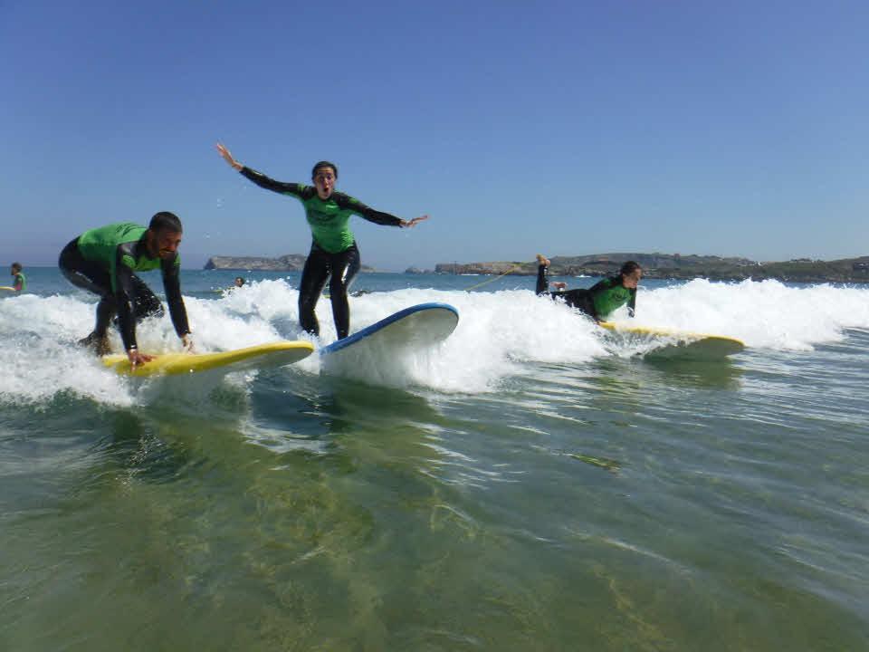 Surfschule Suances