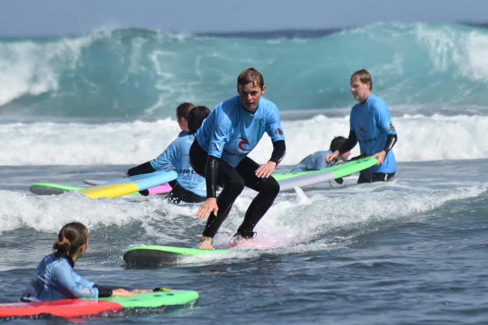 Anfänger Surfkurs Teneriffa