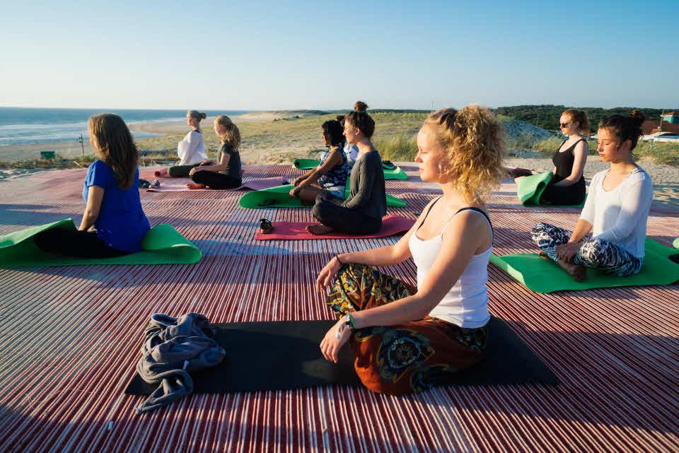 Yogakurs Moliets Frankreich