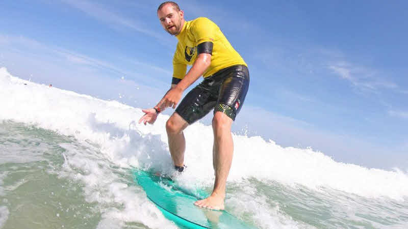 Familienurlaub Surfkurse Frankreich