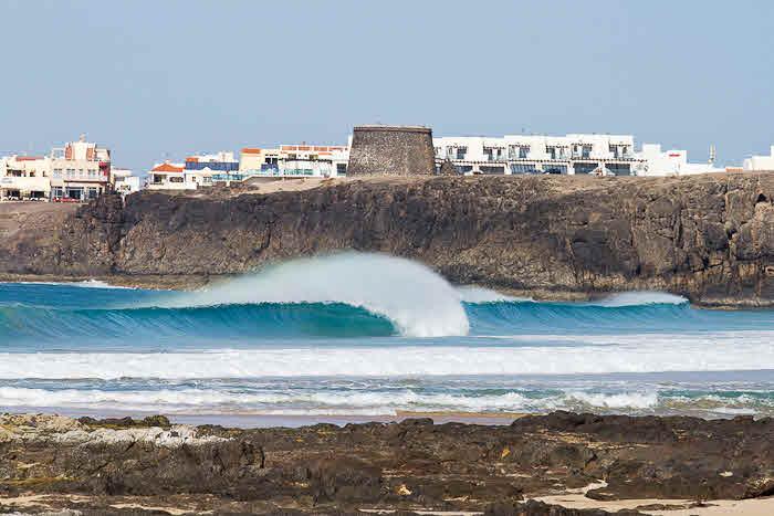 Wellen auf Fuerteventura
