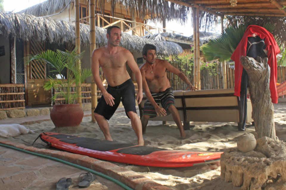 Surfschule Peru