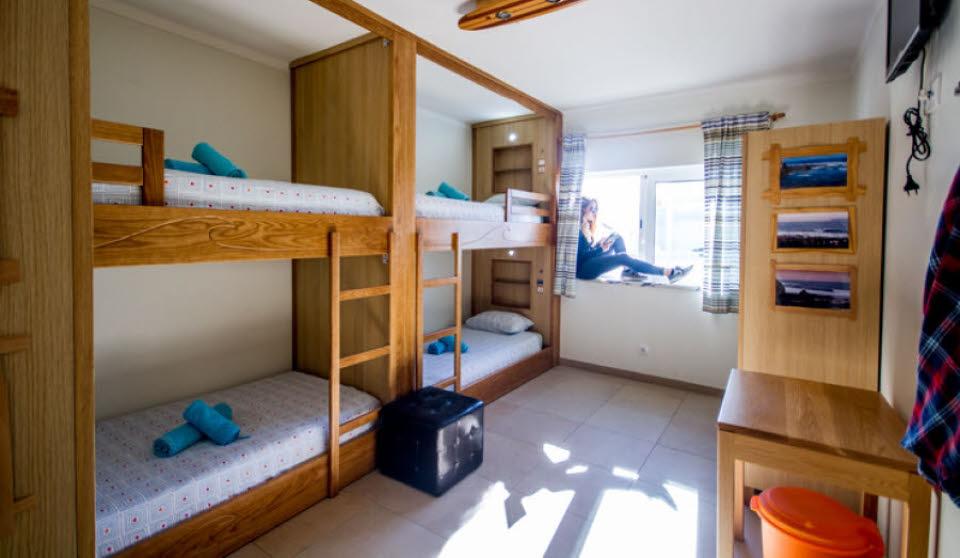 Unterkunft Peniche Surfcamp