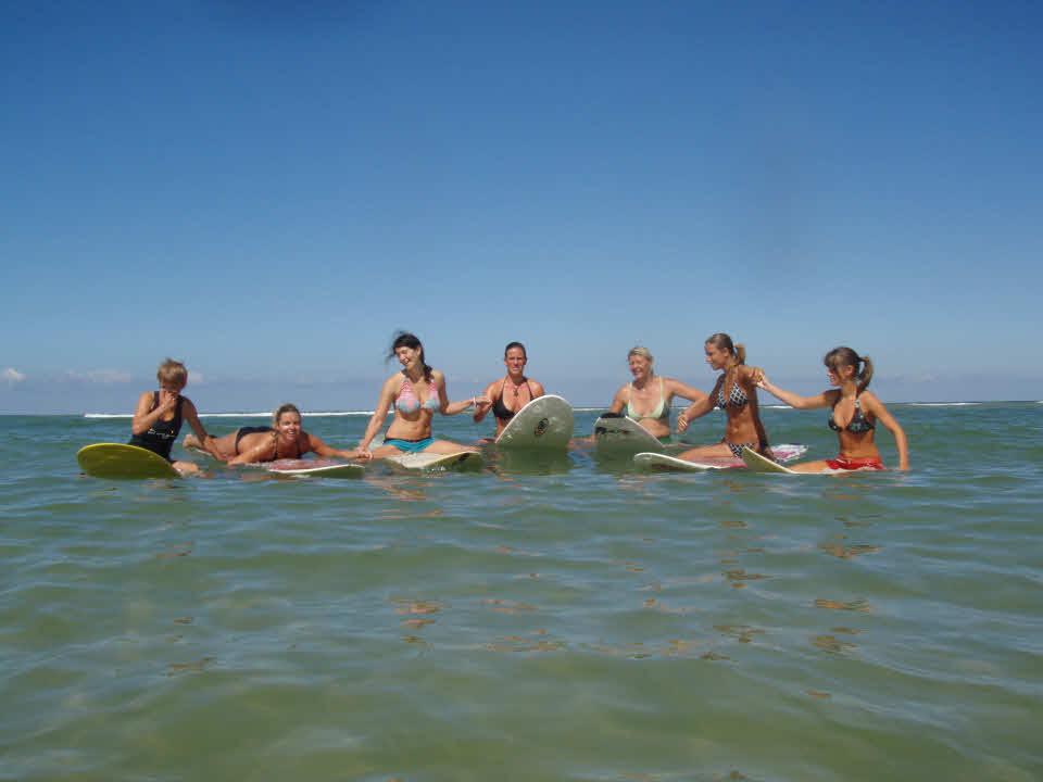 Surfcamp für Mädels