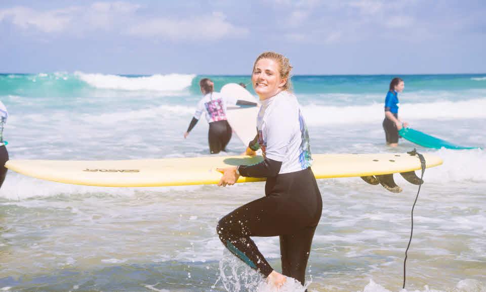 Surfkurs Moliets