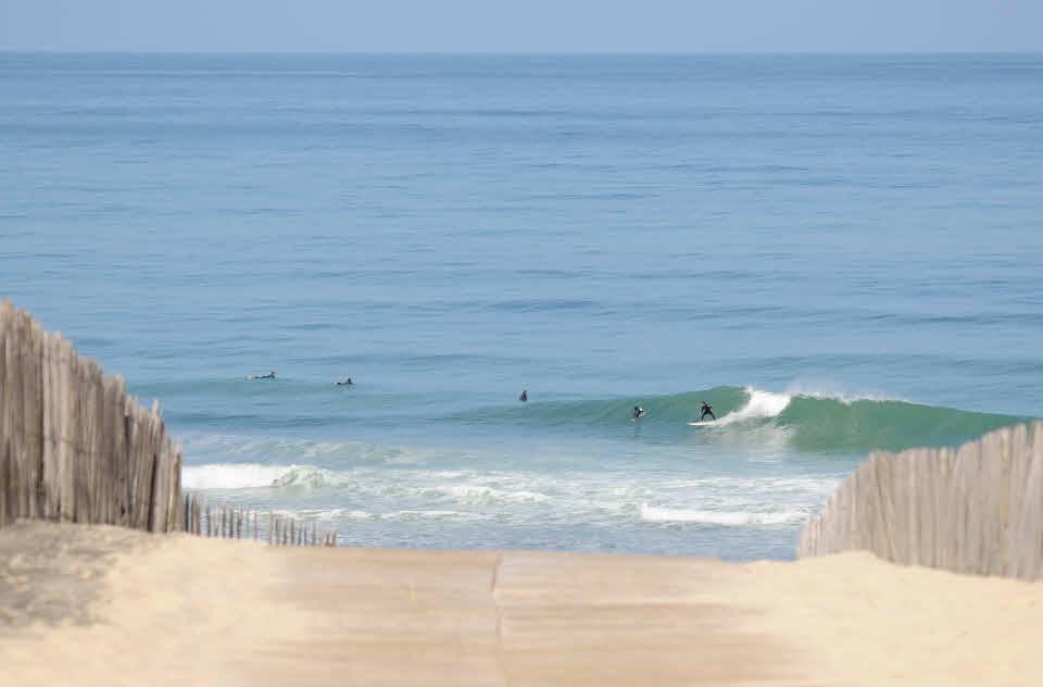 Wellenreiten Carcans