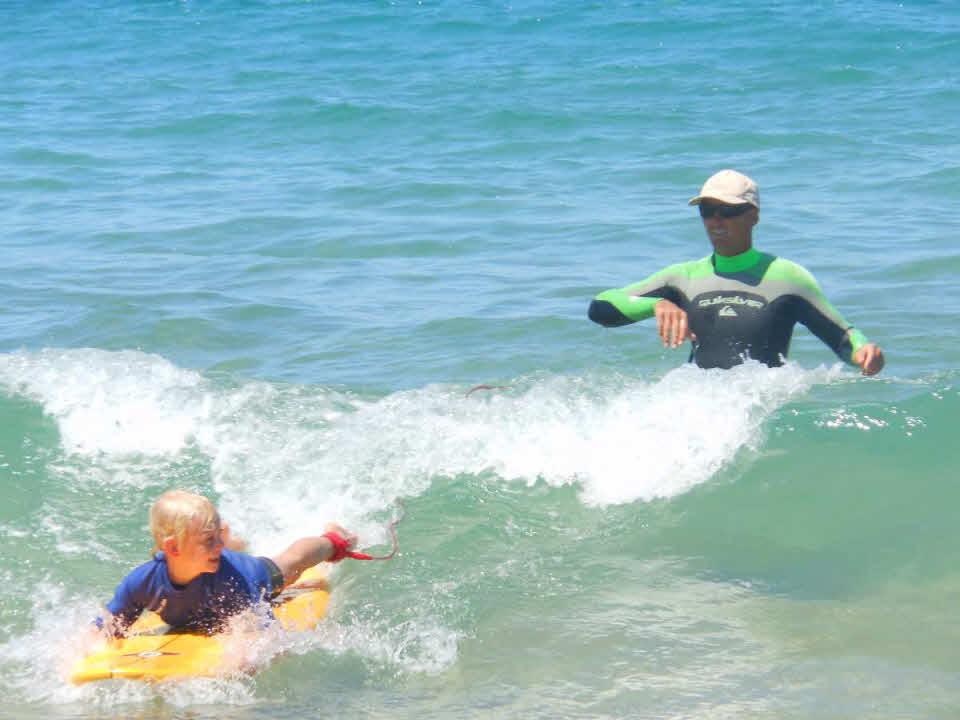 Surfurlaub für Familien