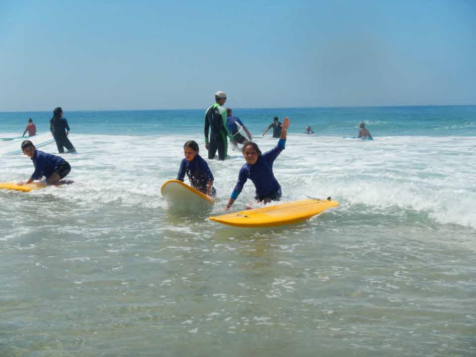 Kindersurfkurs St. Girons