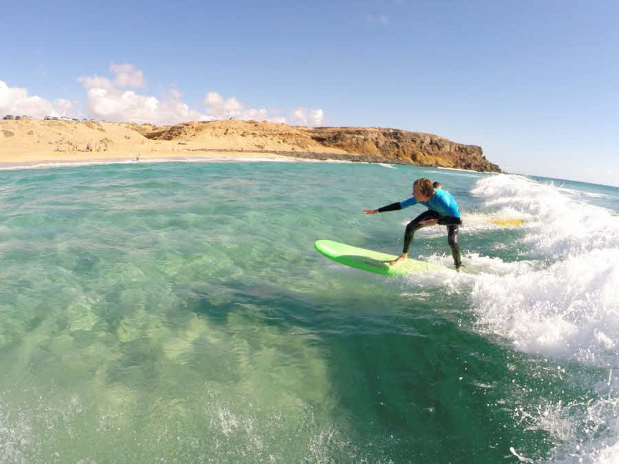 Surfen in Fuerteventura