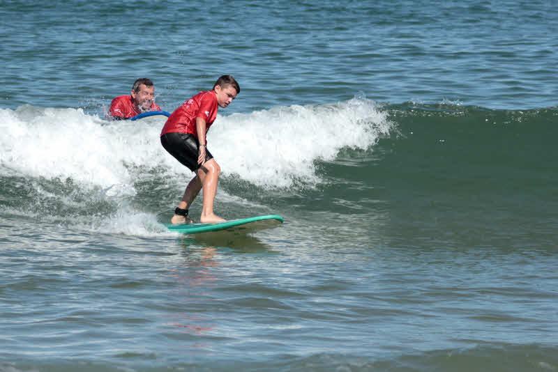 Familien Surfkurs Surfen